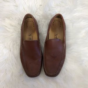 Mephisto Brown Slip on Loafers Size 10.5